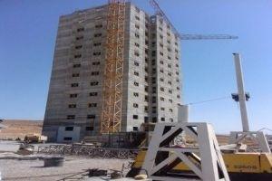 بناء برج سكني مكون من 16 طابقــاً بـ 15 يوماً في سورية..والتسليم على المفتاح  العام القادم