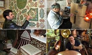إقامة الملتقى الأول للحرف اليدوية في التكية السليمانية بدمشق