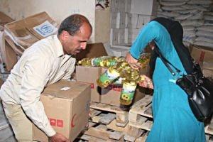 في دمشق فقط.. 70 ألف عائلة مهجرة ...وانخفاض حصص السلل الغذائية