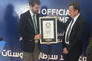 مجموعة قطونيل السورية في مصر لصناعة الأقمشة تدخل موسوعة غينيس