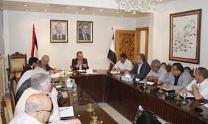محافظة ريف دمشق تدرس إمكانية إحداث صندوق لدعم المتضررين