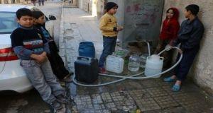 ضخ مياه الشرب في أحياء حلب بدءاً من اليوم