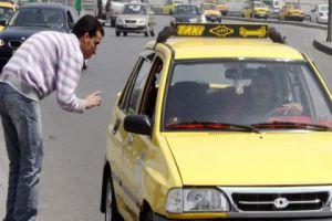في دمشق..اكثر من 1000 مخالفة لسائقي التكاسي تتعلق بعدم الالتزام بالعداد