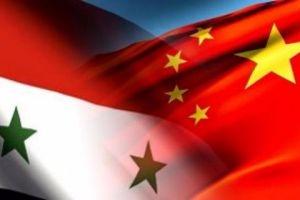 الصين تبدي جاهزيتها للمشاركة في إعادة إعمار سورية