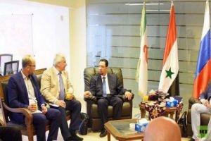 روسيا تعد رجال الأعمال السوريين بتسهيلات