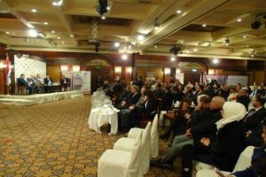 بنك الشام الراعي الماسي الحصري لملتقى رجال الأعمال الثاني بدمشق