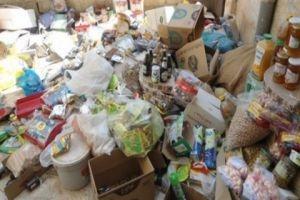 ضبط 25 طناً مواد غذائية مهربة ومجهولة المصدر في ريف دمشق