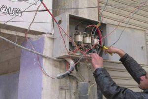 كهرباء دمشق تطلق حملة لقمع سرقة الكهرباء