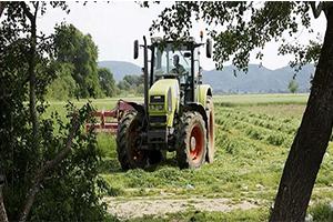 شركة سورية تطلق أول جرار زراعي مجمع دفع رباعي و بحجرة قيادة مكيفة