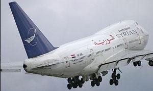 السورية للطيران تصدر تسعيرة جديدة للمقاطع الداخلية والخارجية