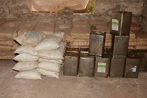 ضبط38 طناً من المواد المهربة و مصادرة نحو 9 أطنان من المواد الغذائية منتهية الصلاحية في حلب خلال 15 يوم