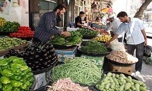 مقارنة بين أسعار بعض الخضار والفواكه في  دمشق و حلب