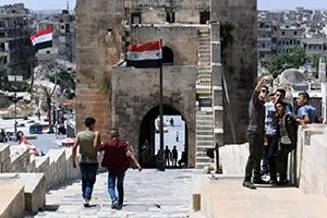 حلب تتعافى وتفتح أبوابها أمام الزوار من جديد