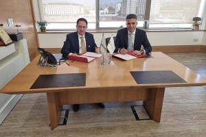 توقيع اتفاقية تعاون بين بنك البركة سورية وشركة ألفا كابيتال للخدمات المالية