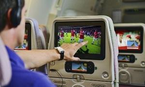 طيران الإمارات تبدأ توفير البث التليفزيونى الحى والمباشر على جميع رحلاتها