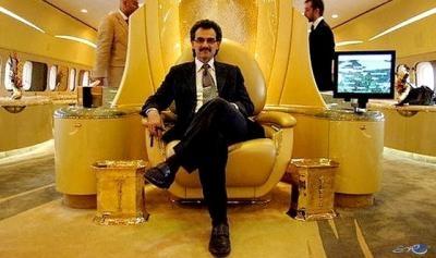 500 مليون دولار ثمن طائرة الأمير الوليد الجديدة