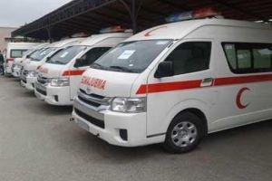 منظمة الصحة العالمية تقدم 10 سيارات إسعاف متطورة لوزارة الصحة