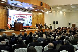 بالصور: افتتاح جامعة أنطاكية السورية الخاصة في معرة صيدنايا