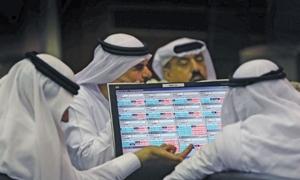 تراجع معظم البورصات العربية خلال الأسبوع الأول من آذار. وسوقي الإمارات الأكثر إنخفاضاً