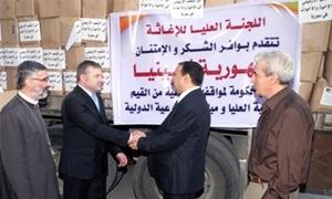 توزيع الدفعة الثالثة من المساعدات الأرمنية لأسر حلب