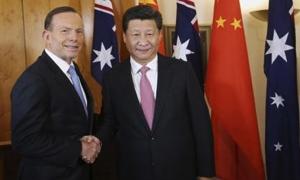 رئيس وزراء استراليا يقول إنه  توصل لاتفاق تجاري تاريخي مع الصين