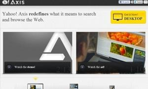 ياهو تطلق متصفح إنترنت جديد اسمه أكسيس