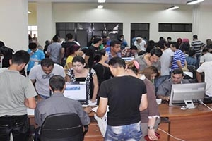 أكثر من 39 ألف طالب وطالبة تقدموا إلى المفاضلة العامة للقبول الجامعي في جامعة دمشق
