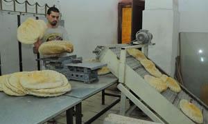 175 ألف طن إنتاج المخابز الحكومية في سورية خلال الربع الأول 2014