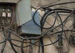 بقيمة 20 مليون ليرة.. تنظيم 1700 ضبط سرقة كهرباء في ريف دمشق