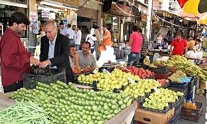 أسعار بعض الخضار و الفواكه في مدينة دمشق اليوم الخميس 4-6-2015