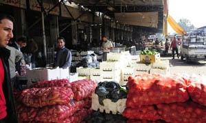 طرطوس: انخفاض في أسعار الخضار.. وارتفاع للفروج والبيض في أسبوع