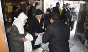 بدء توزيع السكر المقنن في استهلاكية دمشق