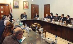 وزير الأشغال العامة: توطين تقنية التشييد السريع في سورية بالتعاون مع الصين