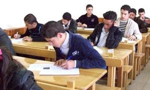 حلب: 54 ألف طالب لامتحانات شهادة