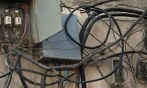26 مليون ليرة قيمة ضبوط الاستجرار غير المشروع للكهرباء في تسعة أيام