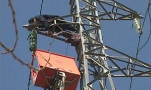 وزارة الكهرباء: إعادة خط التوتر العالي الرئيسي  للمنطقة جرمانا إلى الخدمة من جديد