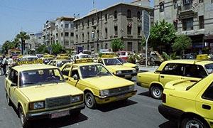 تموين دمشق تبدأ حملة ضد سائقي التكاسي المخالفين..و8 ضبوط لمحطات الوقود خلال يومين