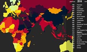 موريتانيا تتصدر حرية الصحافة بين الدول العربية وتراجع مخيف لـ الولايات المتحدة.. وسوريا بالمرتبة 177 عالمياً