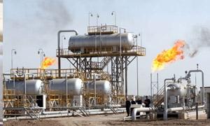 17 مليون متر مكعب الإنتاج اليومي من الغاز..وزير النفط: وضع بئرين جديدين لإنتاج الغاز بالخدمة