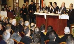 غرفة صناعة حلب تضع  18 توصية على طاولة الحكومة .. أهمها إعتبار حلب مدينة