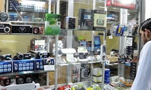 استقرار لليوم الثالث على التوالي..أسعار أجهزة الموبايلات في دمشق ليوم 1-4-2014