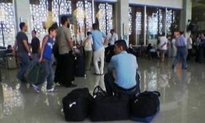 الطيران السورية تحدد وزن الحقائب بـ7كيلو غرامات  للمسافرين بين