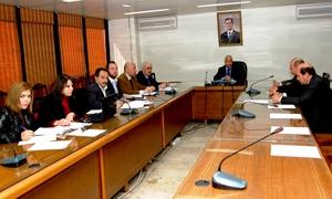 أورفلي يترأس اجتماعا لمجلس إدارة المركز المشترك للتعاون السوري الروسي