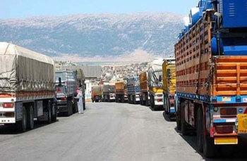 137 مليون دولار الاستثمارات السورية بالمنطقة الحرة الأردنية السورية في شهرين..و150 شاحنة اردنية تدخل سورية يومياً