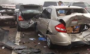 8631 حادث مرور في سورية بتراجع 52% خلال العام 2013