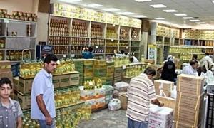 دمشق : افتتاح صالتين جديتين للمؤسسة الاستهلاكية