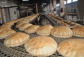 نحو 485 ألف طن إنتاج المخابز الحكومية في سورية من الخبز خلال عام..و 1600 طن المبيعات اليومية