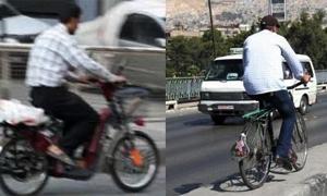 محافظة دمشق تطالب أصحاب الدرجات الهوائية والكهربائية بالحصول على لوحات تعريفية