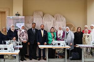 للعام الثاني جمعية المبرة النسائية تنظم مشروع نجاحنا مع البركة بيكبر