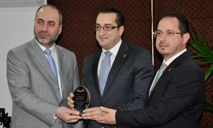 بنك البركة سورية  يقيم الحفل السنوي الأول لتكريم موظفيه المتميزين